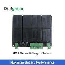 Балансировочный эквалайзер QNBBM для литиевой батареи, 8S, 24 В, балансировка lifepo4, LTO, NCM, LMO 18650, комплект «сделай сам», балансировка напряжения