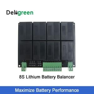 Image 1 - QNBBM 리튬 배터리 이퀄라이저 8S 24V 밸런서 lifepo4 LTO NCM LMO 18650 DIY 팩 전압 밸런싱