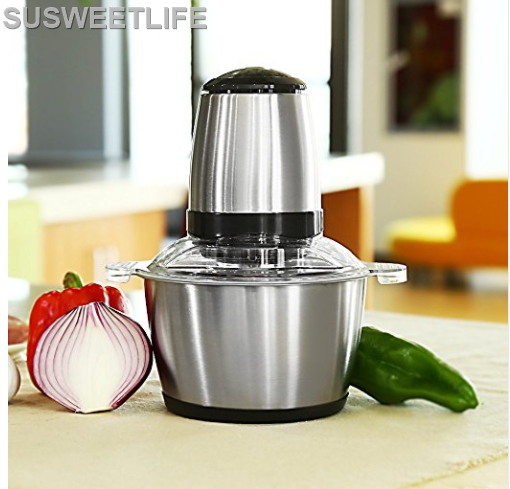 Stainless Steel Meat Grinder Chopper Electric Automatic Mincing Machine High-quality Household Grinder Food Processor цена