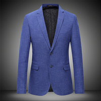 Plus Size Men Blazer Spring New 2018 Hot Sale Business Casual Mens Suit Coat Formal Wear Long Sleeve Social Blazers Jackets 7XL