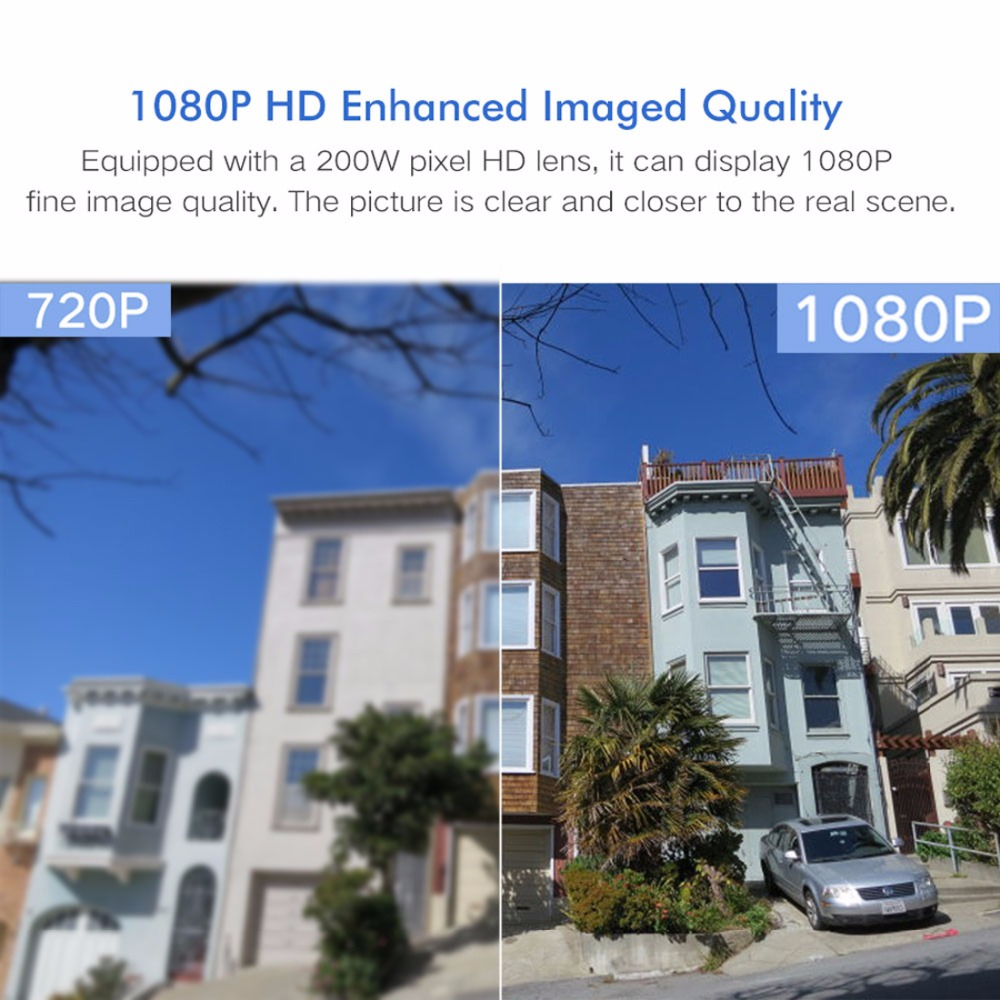 SeeSii 1080P stockage en nuage sans fil WIFI caméra extérieure PTZ IP caméra vitesse dôme CCTV caméras de sécurité P2P Camara WIFI extérieur - 3