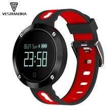 Vestmadra VM58 Bluetooth спортивные сердечного ритма Смарт-браслет с Монитор артериального давления водонепроницаемый браслет для IOS телефонах Android