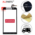 100% Original Tested 5.5 inch Phone Touchscreen For ASUS Zenfone 2 Touch Screen ZE551ML with Glass Panel Parts Free Adhesive