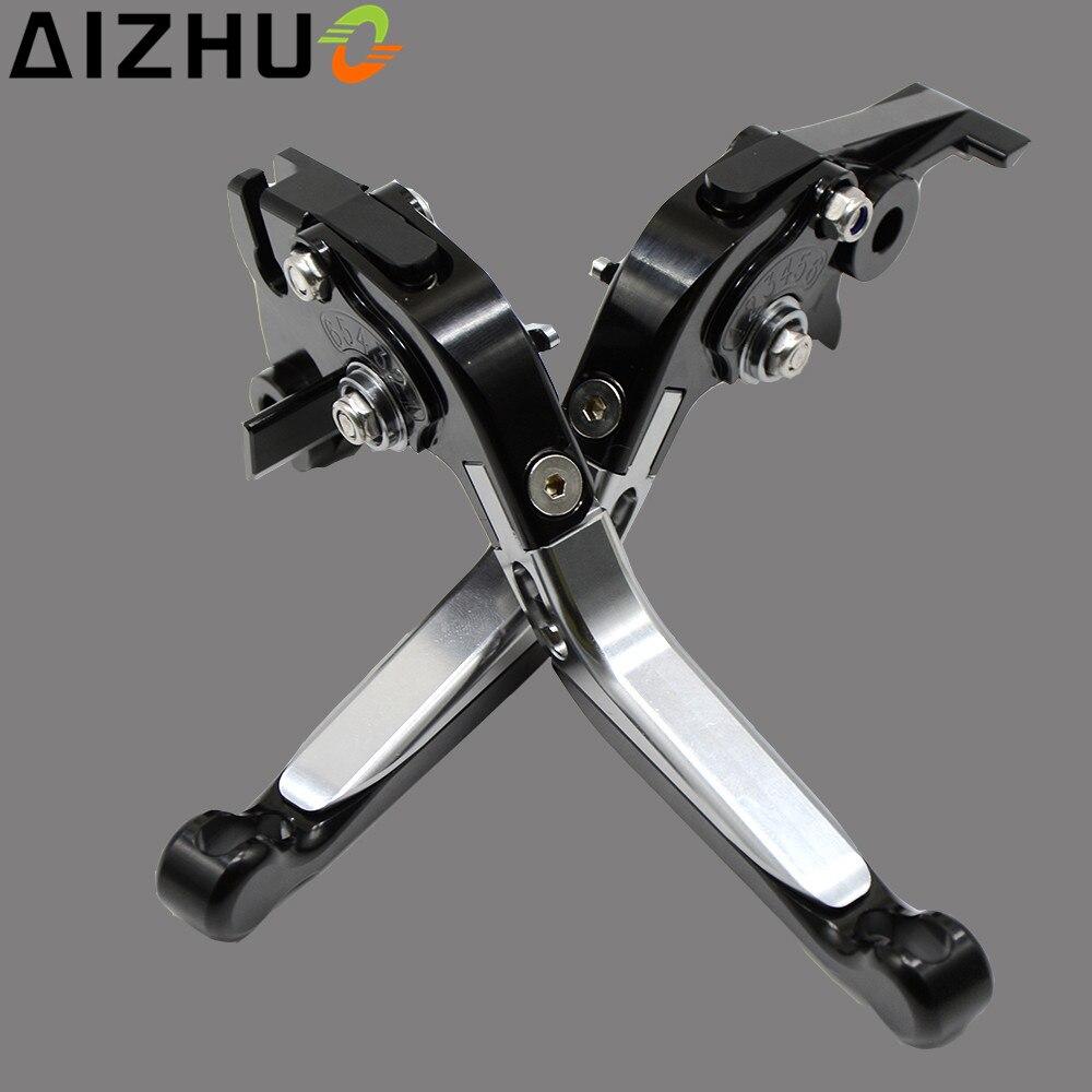 For BMW K1300 K1300S K1300R K1300GT Motorcycle Clutch Brake Lever CNC Aluminum Adjustable Extendable Motorbike Clutch Levers