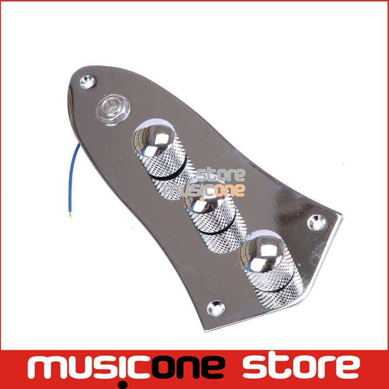 guitar jack wiring promotion shop for promotional guitar jack chrome wired loaded prewired control plate harness assembly knobs and jack for jazz bass guitar parts