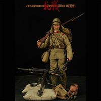 30CM 1/6 Scale World War II Japanese Soldiers Plastic Cloth Multi crafted Soldier Model Action Figure Joint Doll Toys For Boys