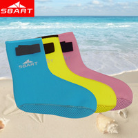 SBART Children Diving Socks 3MM Nylon Neoprene Boots For Winter Swimming Kids Child Water Surf Swim