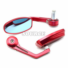 7/8″ 22mm Universal Motorcycle  Rear View Side Mirror Handle Bar End for suzuki GSXR1000 GSXR600 GSXR750 GSXR GSX-S1000/F/ABS