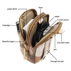 Tactical Pouch Military Men Hip Waist Belt Bag Small Pocket Running Pouch