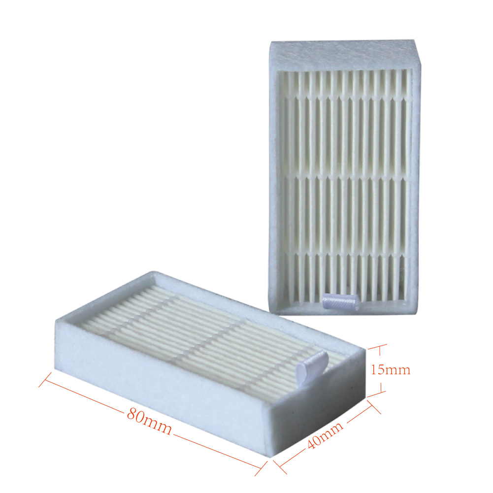 10pcs /lot Robot Vacuum Cleaner Parts HEPA Filter Replacement For Haier T322,GUTREND JOY 90 Pet FUN110