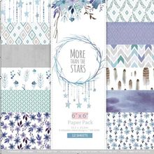 DIY More than the stars style Scrapbooking paper pack of 24 sheets handmade craft paper craft Background pad