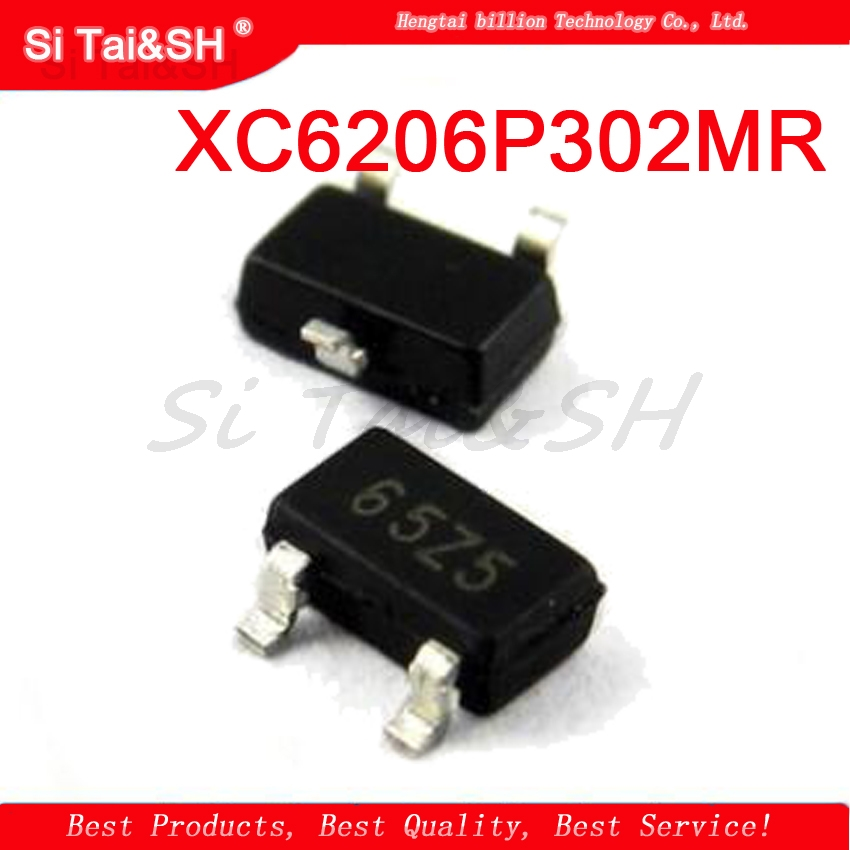 20pcs New SOT23 XC6206P302MR 3V Current 140MA Positive Voltage Regulator Chip Silk Screen 65Z5