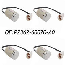 New 4PCS PZ362-60070-A0 Ultrasonic Parking PDC Sensor For Toyota PZ362-60070 Genuine