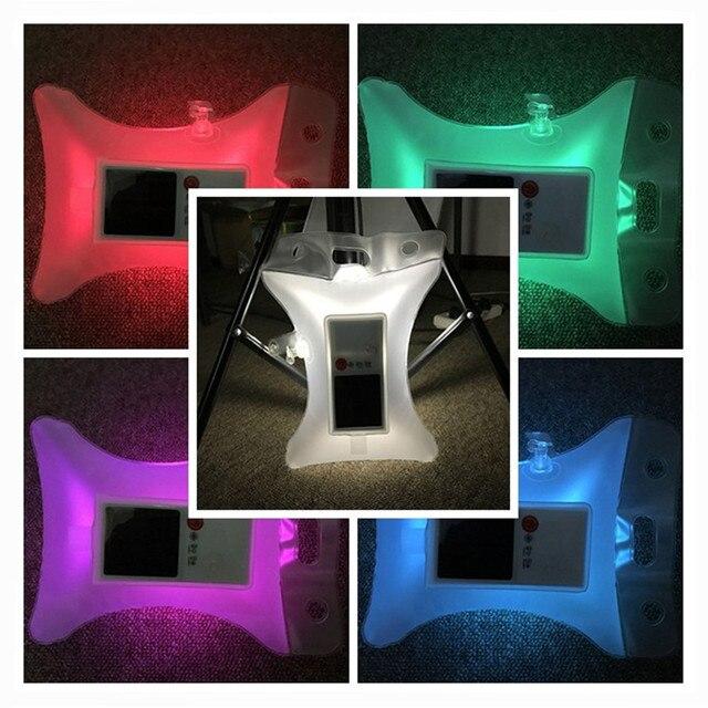 Solaire Rechargeable Alimenté LED En Plein Air gonflable Lumière ...