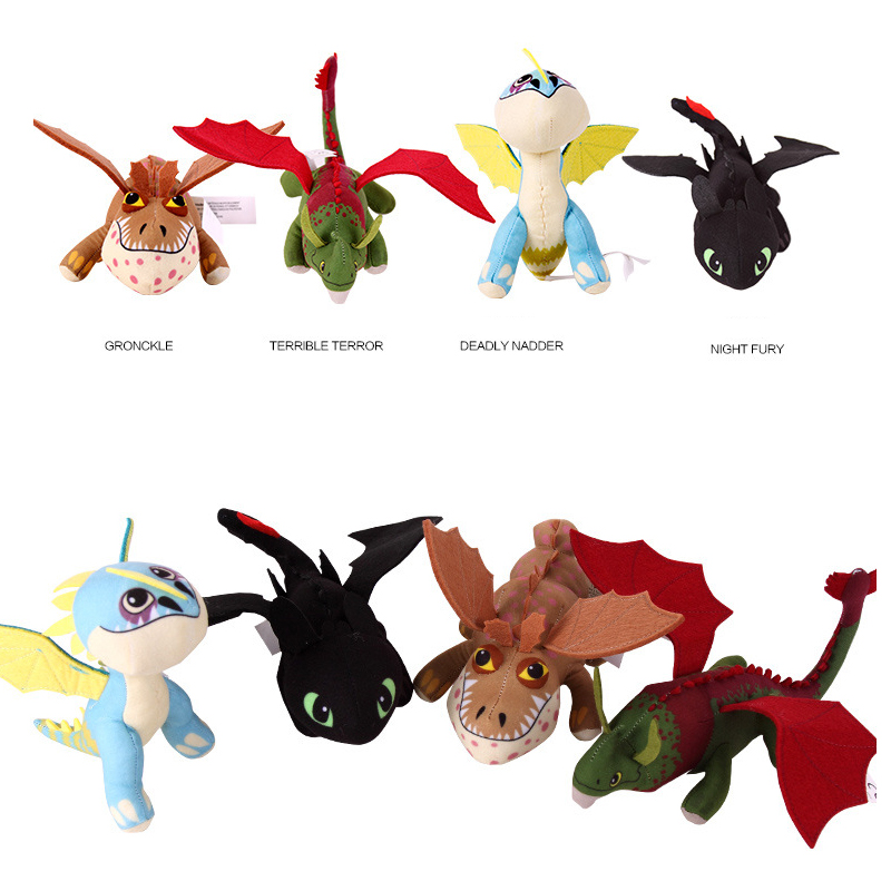 2015 New How To Train Your Dragon 2 Cartoon Toy Doll Night Fury Toothless Deadly Nadder Gronckle Dragon Plush Dolls 25cm Doll Pendant Doll Collectordragon Ball Z Toy Aliexpress