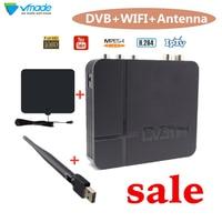 Full hd digital tv receiver DVB T2 Terrestrial receiver video errestrial tv receiver dvb t2 set top box versus wifi tv antenna