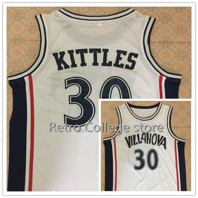 Kerry kittles villanova wildcats basketball jersey white custom jpg 640x640 Kerry  kittles jersey bcdee219c