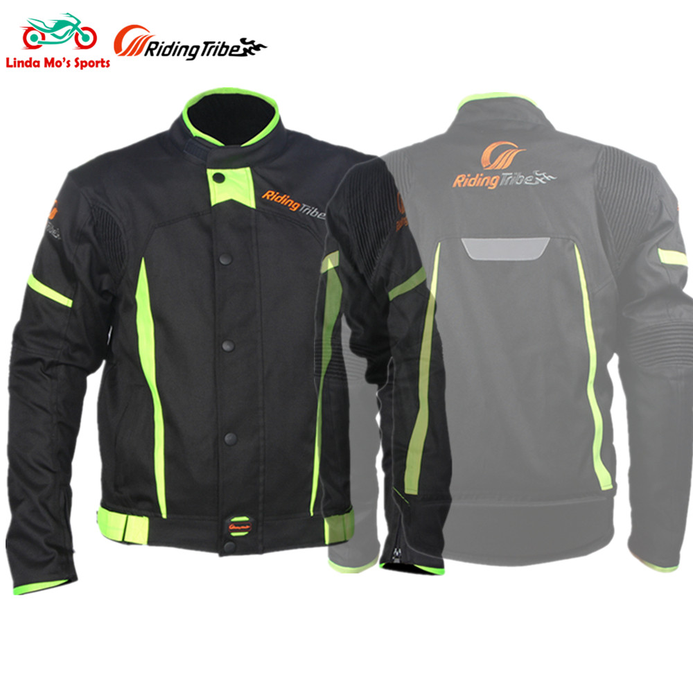 RIDING TRIBE Motorcycle Jackets Windproof Racing motocross Jacket Clothing Blouson Moto Five Protector Guards Motorbike Jacket scoyco motorcycle riding knee protector extreme sports knee pads bycle cycling bike racing tactal skate protective ear