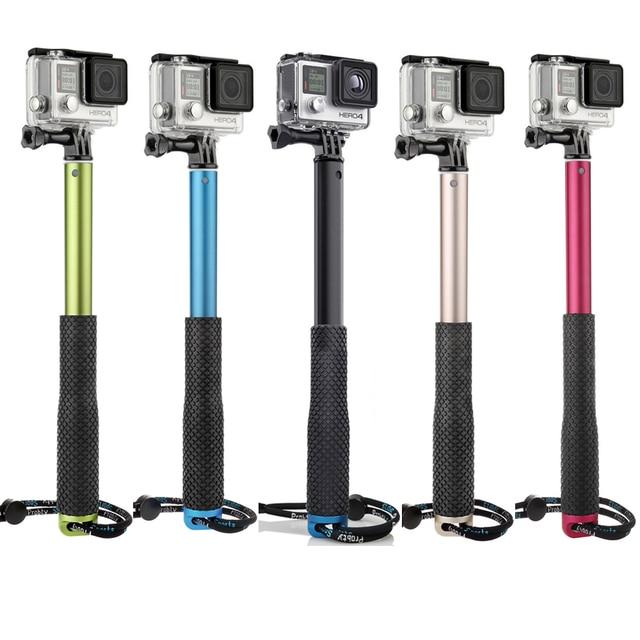 buy probty portable pov pole for gopro selfie stick extend monopod for gopro. Black Bedroom Furniture Sets. Home Design Ideas