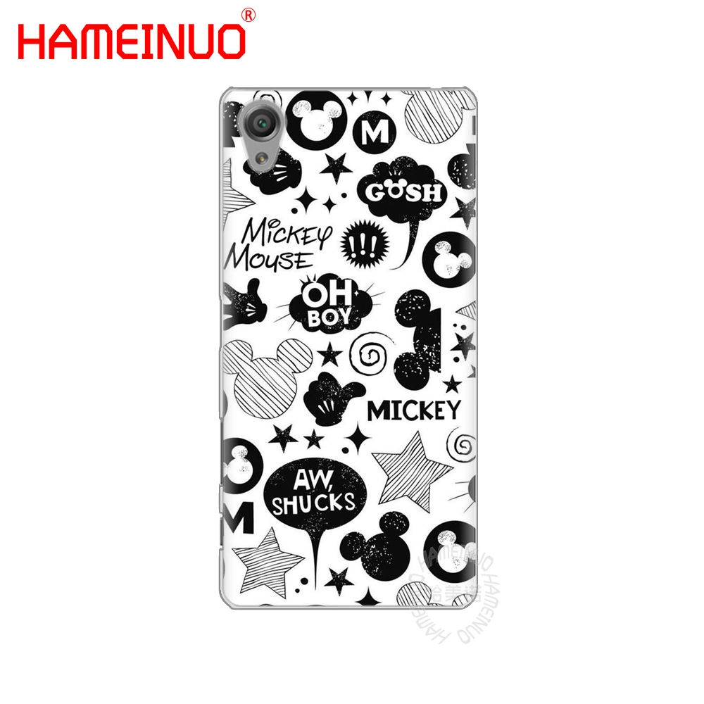 hameinuo mickey and minnie cover phone case for sony