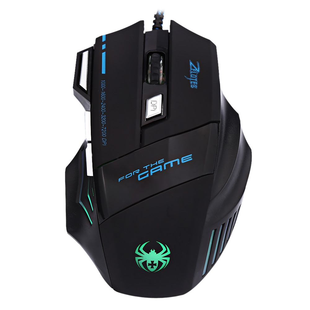 Wired Gaming Mouse 7 Buttons Optical 7200DPI Professional Mouse Gamer Computer Mice For PC Laptop