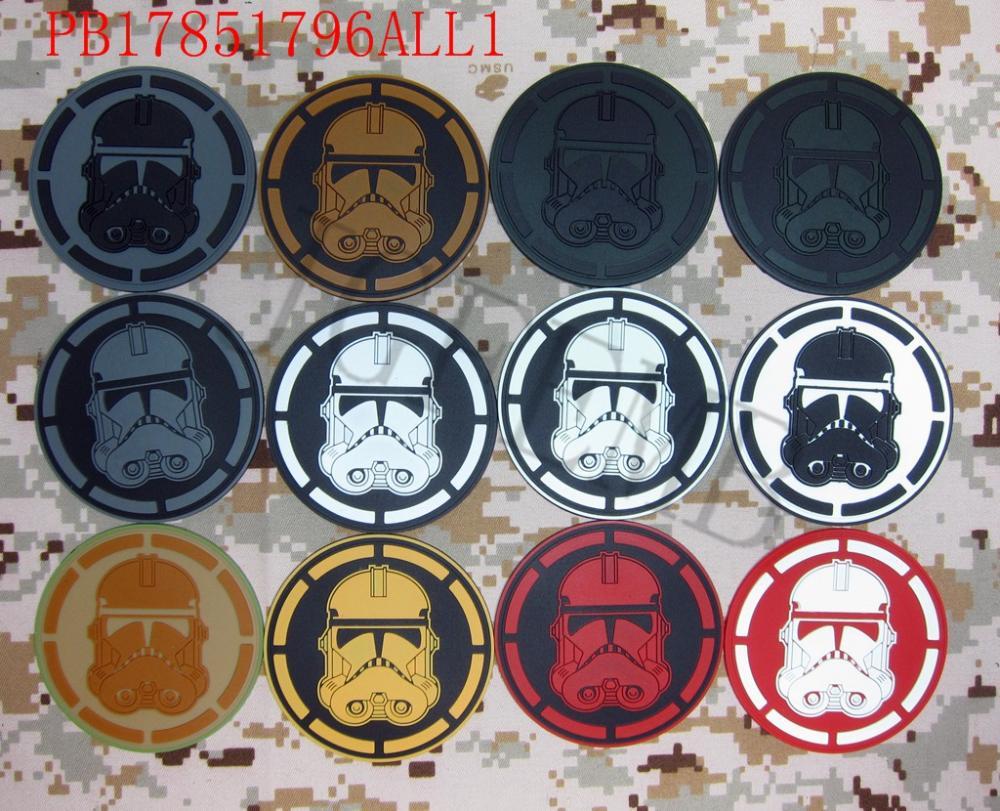 Legion Imperial STORM TROOPER Logo Taktikaline sõjamoraal 3D PVC - Kunst, käsitöö ja õmblemine