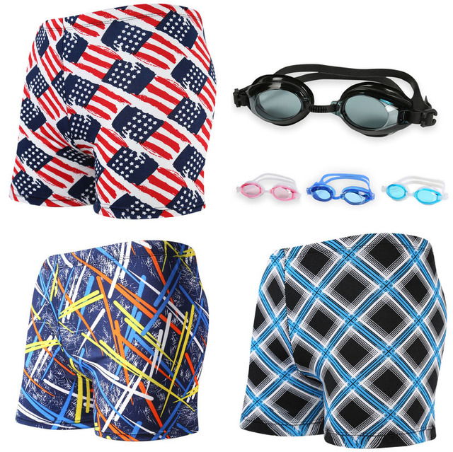 Female / Male Silicone Swim Eyewear Men Bathing trunks Swimming trunks Boxer Brief Diving Equipment