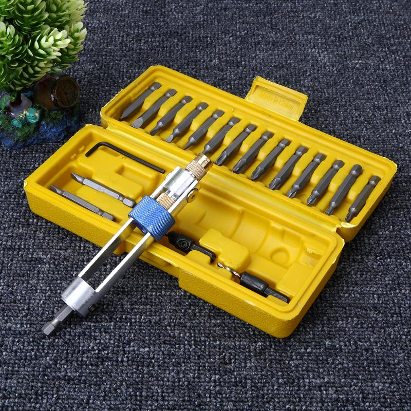 20Pcs Drill Driver Set With 16 Different Kinds Head
