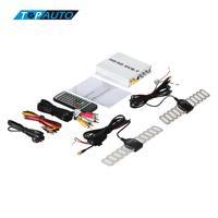 Auto DVB-T TV Tuner HD/SD Diverse Kanaals Mobiele Digitale TV Box Mini Analoge Hoge Snelheid 240 km/u Sterke signaal Ontvanger