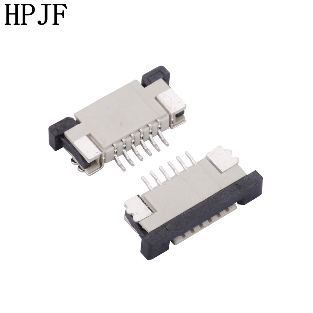 1 0mm Pitch FPC Connector Drawer Type Ribbon Flat Upper Cable Holder 4 5 6 8 9 10 12 14 15 16 18 20 22 24 26 28 30Pin Contact in Connectors from Lights Lighting