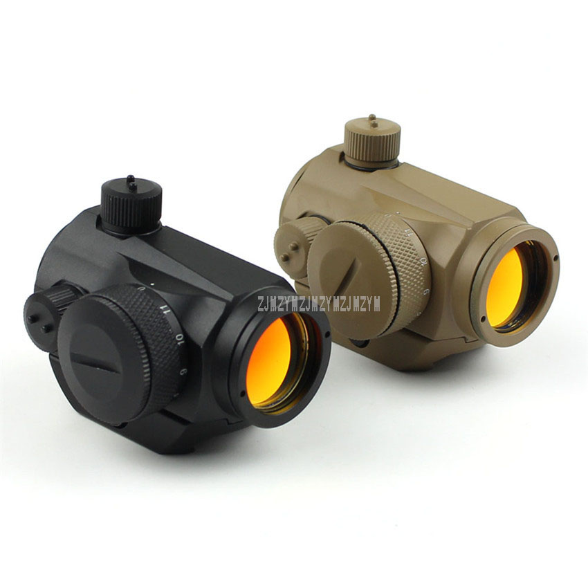 HD 5 Waterproof Rainproof Optical Sight Tactical Red/Green Dot Sight Rifle Scope With 20mm Rail For Airsoft Hunting Riflescope