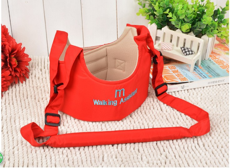 Baby Safe Infant Walking Belt Kid Keeper Walking Learning Assistant Toddler Adjustable Strap Harness