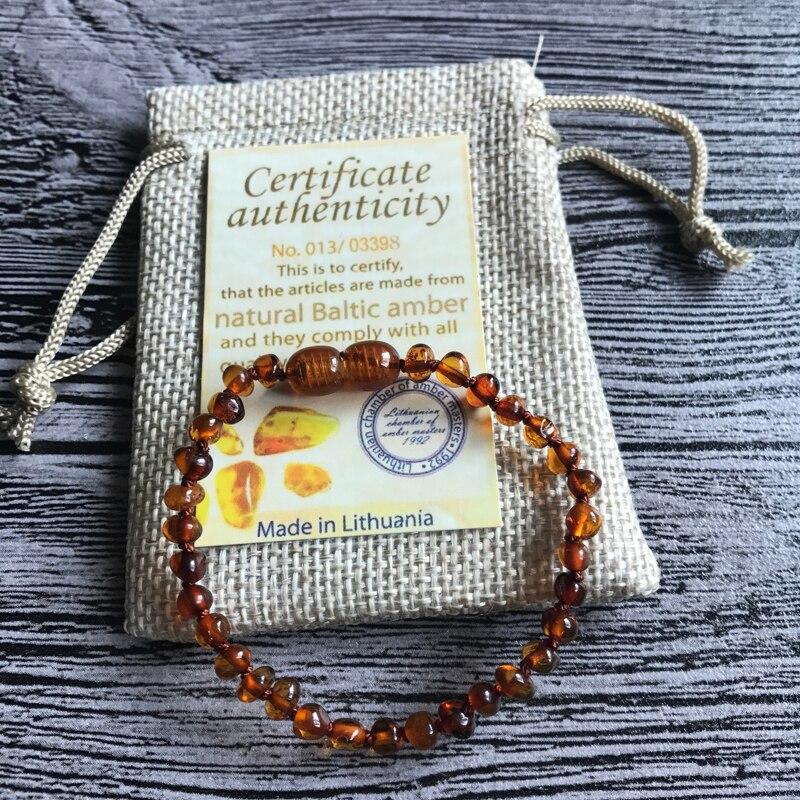 HTB1L2mcn3vD8KJjSsplq6yIEFXa3 Yoowei Natural Amber Bracelet/Anklet for Gift Women Amber Bracelet Baltic 4mm Small Beads Baby Teething Custom Jewelry Wholesale
