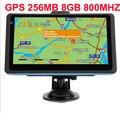 7.0 polegada stlying carro de navegação gps 8 GB 256 mb 800 mhz mapa livre preload