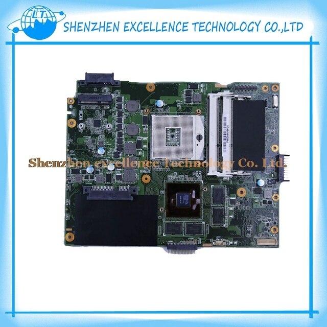 Высочайшее качество Для ASUS K52JV REV: 2.2 GT540 с 2 ГБ RAM DDR3 8 шт. хранения ноутбука Материнская Плата 100% тестирование