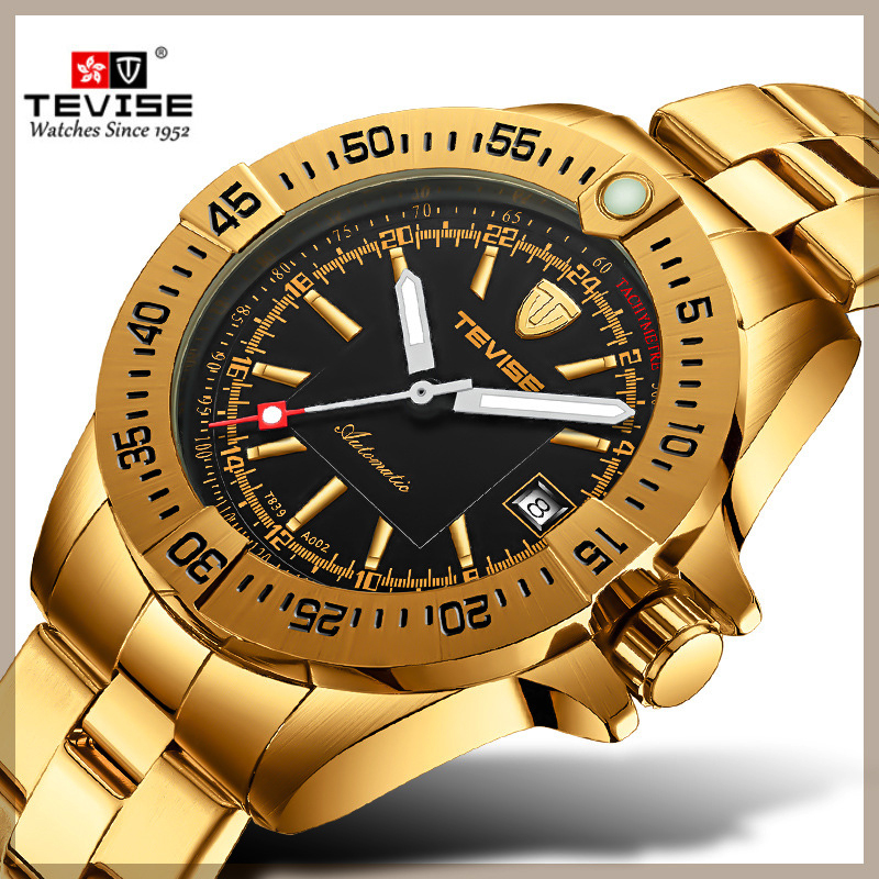Relogio Automatic Watch Men Tevise Mechanical Watches Men Business Wristwatches Clock Gift box Reloj hombre 2019 erkek kol saatiRelogio Automatic Watch Men Tevise Mechanical Watches Men Business Wristwatches Clock Gift box Reloj hombre 2019 erkek kol saati