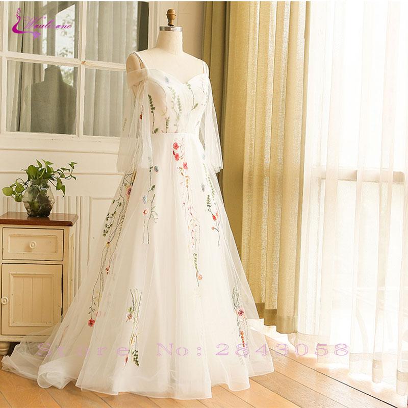4d587b0f16ddb Waulizane Elegant Sweetheart Evening Dresses Classical Floral Print Plus  Size Lace Up Spaghetti ...