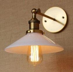 W stylu Retro Loft Edison kinkiet ścienny szkło ścienne w stylu Vintage oprawy oświetleniowe przemysłowe kinkiet dla domu oświetlenie Lampe Murale w Lampy ścienne od Lampy i oświetlenie na