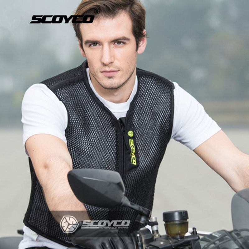 SCOYCO Motorcycle Vest Summer Breathale Motocross Jackets Protective Gear Riding Off Road Professional Motorbike Equipment