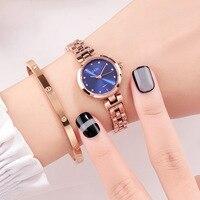 GEDI Luxury Brand Fashion Women Watches Chain Bracelet Ladies Wristwatch Elegant Women Dress Watches Girls Small Watches Chic