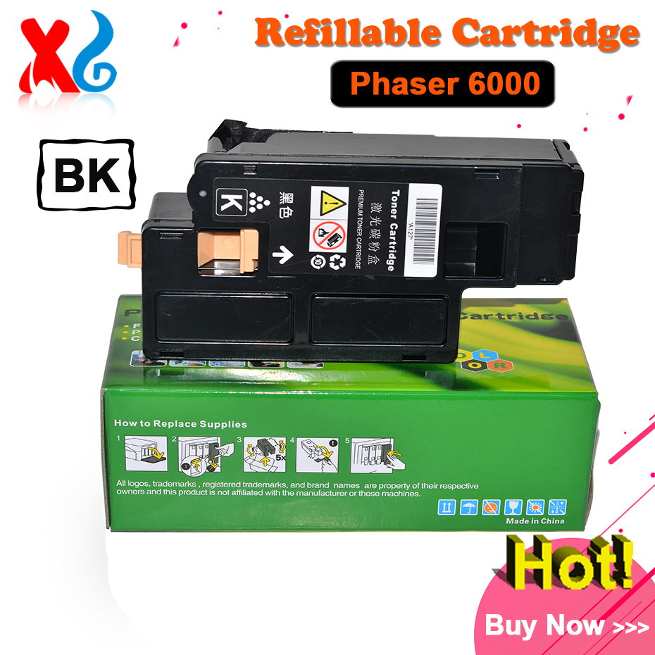 Workcentre 6010 6015 6015v toner cartridge for xerox phaser 6000 6000b 106r01631 106r01632 106r01633 106r01634 chip