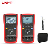 UNI T Digital Multimeter UT612 UT611 LCR Meter Inductance 200H 2000H Capacitance Resistance Frequency Test Auto LCR Smart Check