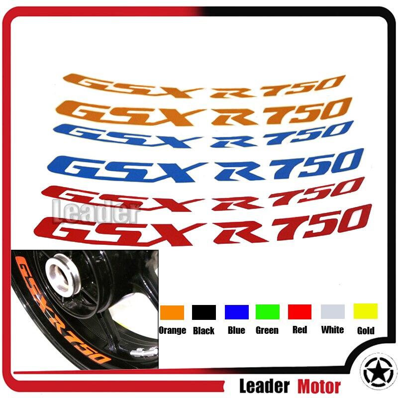 Gloss Red Motorcycle Inner Rim Tape Sticker Decal for Suzuki GSXR 600
