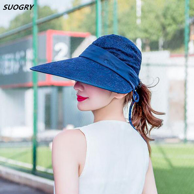 6262e2d542c41 Waterproof Women Foldable Snapback Beach Hat Lady Summer Neck Face  Protection Sun Hat Hiking Trip Fishing ...