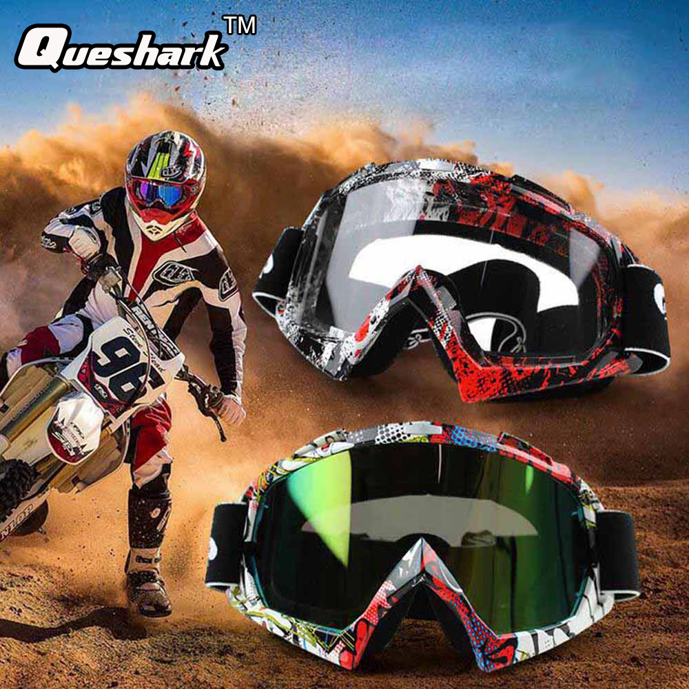 Racing Off Road Motocross font b Goggles b font Tinted UV Stripe font b Motorcycle b
