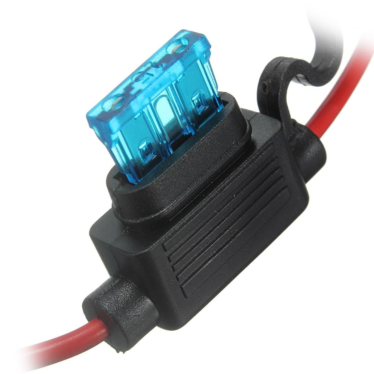 medium resolution of 5pcs 6v 12v 24v in line blade fuse holder box kit fuses in line inline fuses and fuse holders in line fuse box