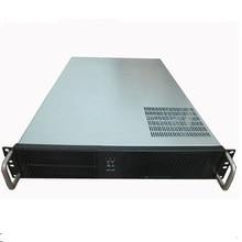Серверный компьютерный корпус 2U 650 мм Интернет кафе коробка серверного шасси 19-дюймовую стойку типа