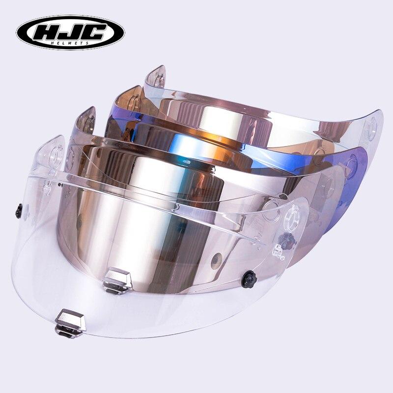 HJC HJ-26 or bouclier visière adapté pour RPHA 11 R-PHA 70 casque HJ-26ST HJC transparent bleu chrome casque lentille