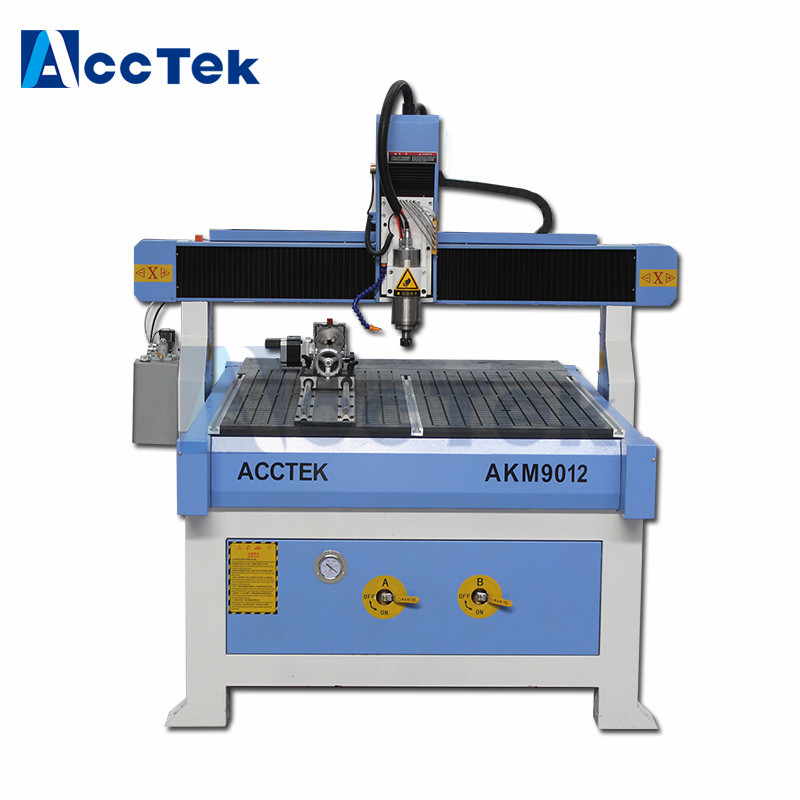 Acctek AKM9012 Cnc China Machine Router 3d Model Cnc Engraving Machine