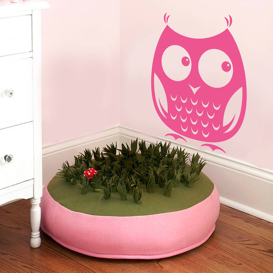 Woodland owl wall sticker decal cute animal decals for kids woodland owl wall sticker decal cute animal decals for kids bedroom nursery vinyl wall decal removable home decoration za733 in underwear from mother kids amipublicfo Gallery